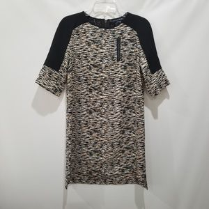 French Connection Sahara Wave Texture Dress Sz 6